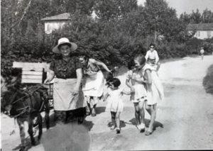 Foto storica scattata a Casaleone, paese produttore di radicchio