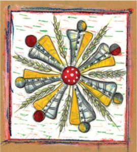 Disegno del maestro Gino Masciarelli