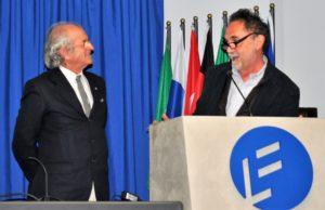 A destra il sopraintendente Andrea Alberti e Dario Dall'Olio