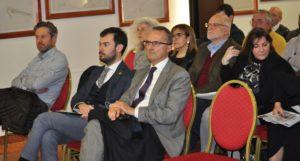 In primo piano Renzo Lotto, sindaco di Grisignano di Zocco, organizzatore del corso di aggiornamento per gli stakeholders Green Tour per la dorsale Treviso-Ostiglia