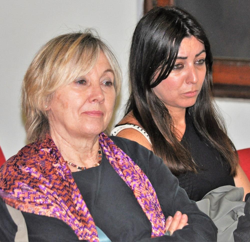 Luana Zanella (a sinistra)