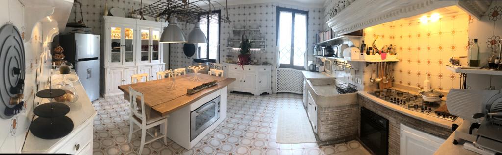 Villa Domenica, interni