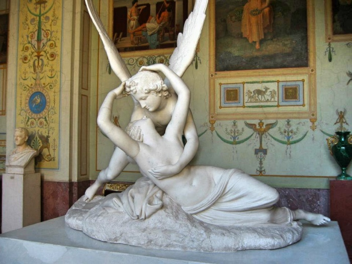 Antonio Canova, Amore e Psiche, Parigi, Museo del Louvre